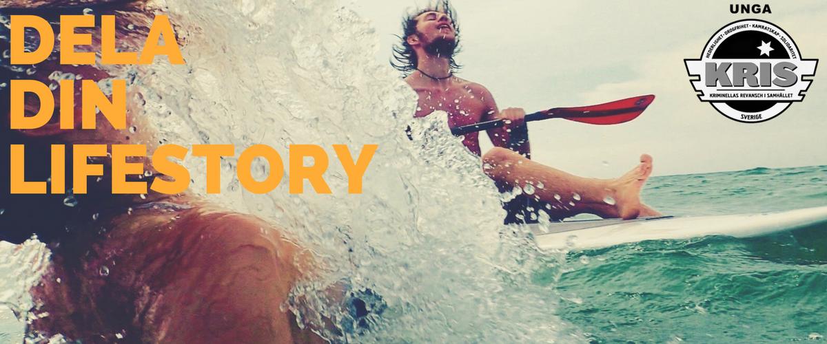 Dela din lifestory!