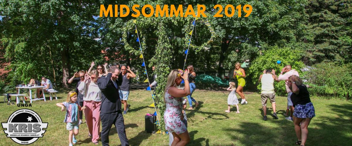 Midsommar hos Unga Kris/Kris 2019!